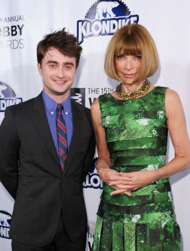 O ator Daniel Radcliffe, astro da srie 