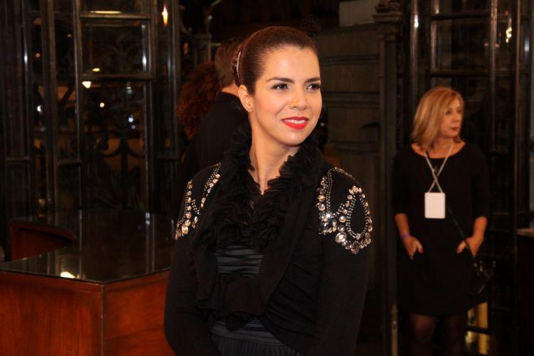 Vanessa da Mata no 22º Prêmio da Música Brasileira, no Teatro Municipal do Rio (6/7/11)