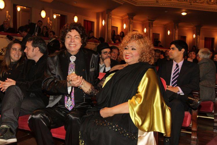Cauby Peixoto e Alcione no 22º Prêmio da Música Brasileira, no Teatro Municipal do Rio (6/7/11)