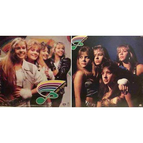 Em 1987, aos 14 anos, Adriane Galisteu era uma das integrantes do grupo adolescente Meia Soquete
