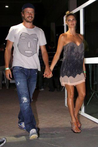 O casal Rodrigo Hilbert e Fernanda Lima no show de Amy Winehouse no Rio de Janeiro (10/1/11)