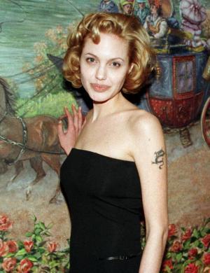 Angelina na época do filme