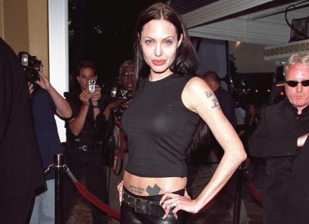 Angelina no lançamento do filme
