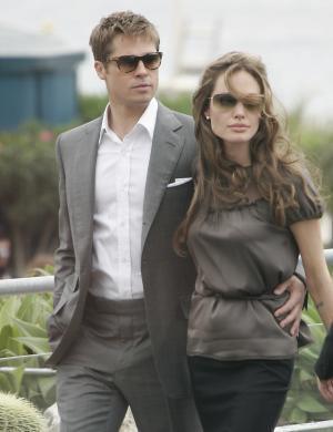 Brad e Angelina chegam em Cannes para divulgar o filme