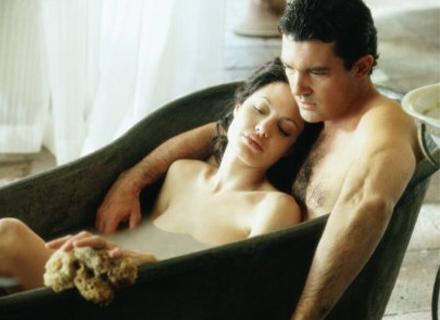 Os bonitões Angelina Jolie e Antonio Banderas em