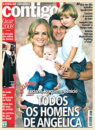 No Brasil, o casal de apresentadores Angélica e Luciano Huck vendeu por R$ 50 mil as fotos de Benício com três meses à revista