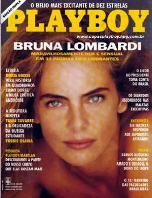 """nua e sensual em 32 páginas deslumbrantes"""" dizia capa da """"Playboy"""