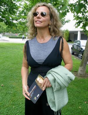 Bruna Lombardi lança seu 7º livro,