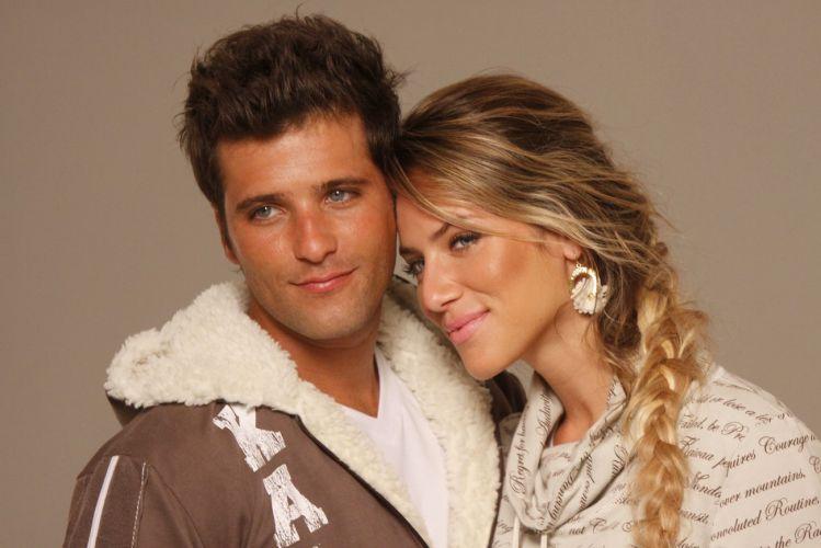 Casados há quase um ano, os atores Bruno Gagliasso e Giovanna Ewbank posam para catálogo de moda de uma marca de roupas no Rio (7/2/2011) Veja fotos do casamento de Bruno Gagliasso e Giovanna Ewbank