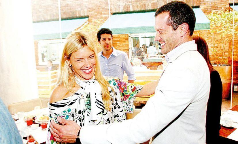 Carolina Dieckmann e Malvino Salvador participam de brunch da pré-abertura do Rio Summer, evento que rolou no Hotel Fasano do Rio de Janeiro (6/11/2008)