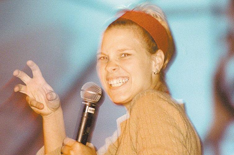 Carolina Dieckmann canta a música