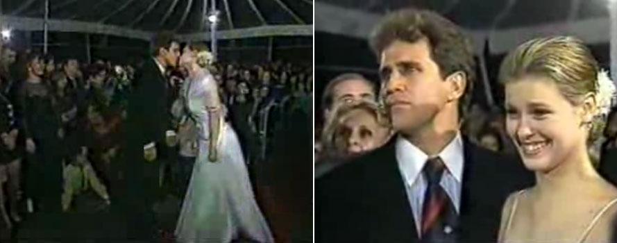 Dia 15 de setembro de 1997, aos 19 anos, Carolina Dieckmann se casa com o ator Marcos Frota, com 42. A cerimônia foi no forte de Copacabana, onde foi montada uma lona de circo. A recepção para 1500 pessoas teve pipoca, algodão doce e cantoria de Djavan. O casal teve um filho em 1999, Davi, e se separou em 2003