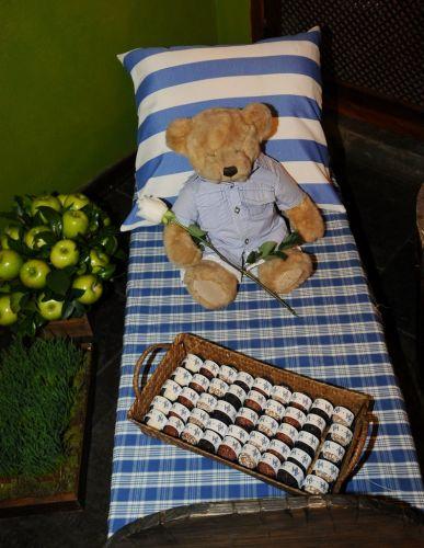 O cerimonial da festa oferecida por Adriane Galisteu e Alexandre Iódice, em Itatiba, foi organizado por Andréa Guimarães que preparou uma área com docinhos, brinquedos e cardápio especial para o almoço das crianças (27/11/2010)