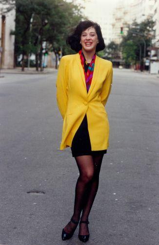 Claudia Raia na pele da personagem Maria Escandalosa de