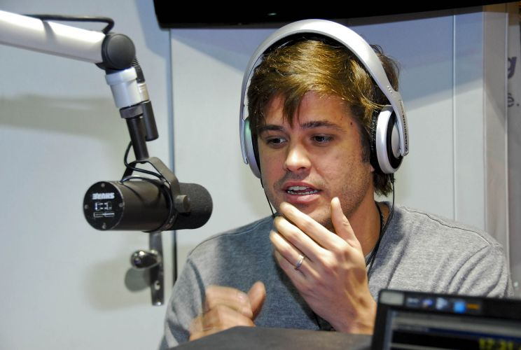 Dado Dolabella participa da Campanha de Natal de um shopping de So Paulo (4/12/2009)