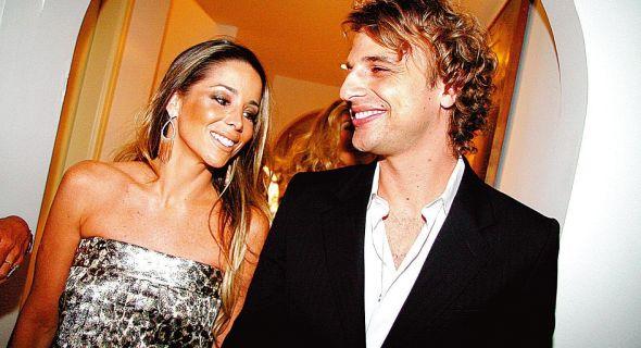 A atriz e seu marido, o ator Cássio Reis
