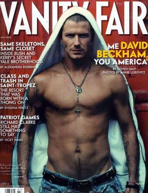 David Beckham estampa a capa da revista