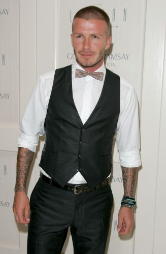 David Beckham adota o look