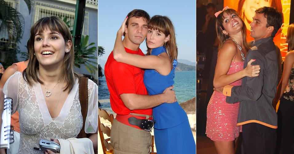 Deborah Secco e Marcelo Faria começam a namorar durante a novela