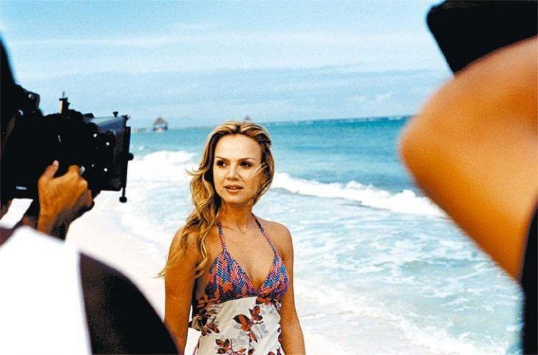 No México, Eliana grava o filme