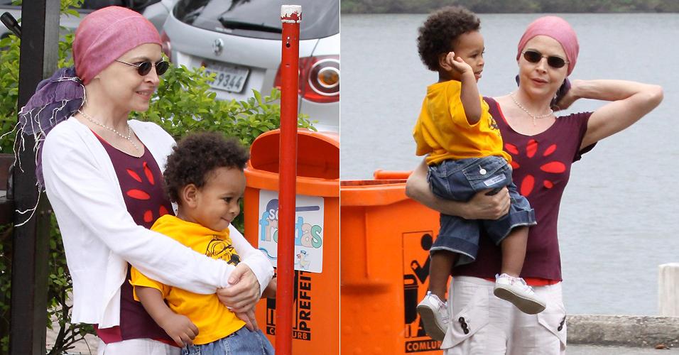 Em julho de 2009, Drica Moraes contou que havia adotado um menino há cinco meses na Bahia, Mateus.