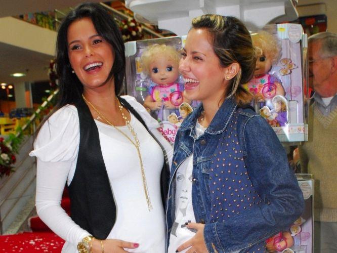 Luciele Di Camargo e Maytê Piragibe