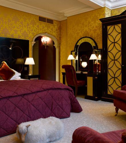 decoracao do casamento de kate middleton:Um dos quartos do hotel Goring, no centro de Londres.