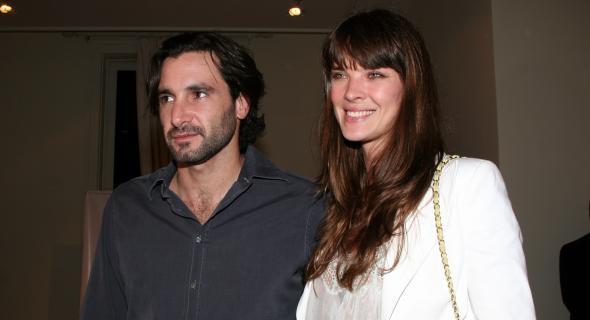 Letícia e Rico Mansur juntos em evento na Daslu (nov/2006)