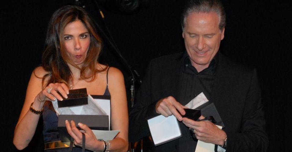 Luciana Gimenez e o apresentador Roberto Justus são padrinhos da 7ª edição do evento beneficente