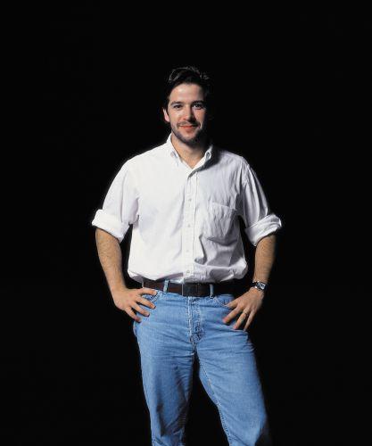 O ator Murilo Benício posa para ensaio fotográfico (9/1/00)