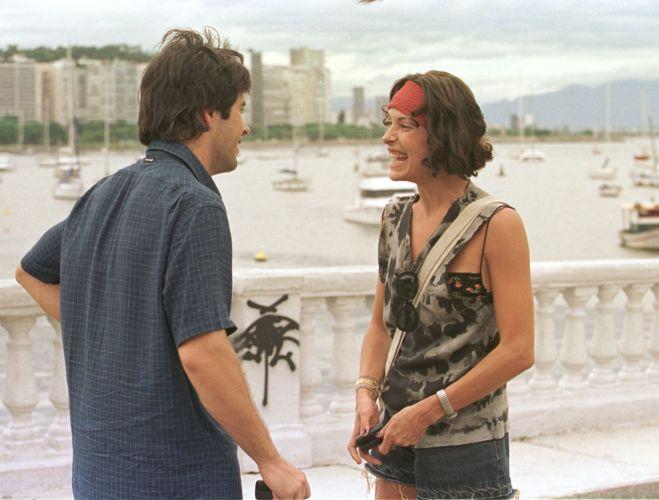 Murilo Benício e Carolina Ferraz em cena do filme