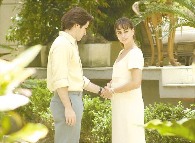 Daniela Escobar e Murilo Benício em cena da novela