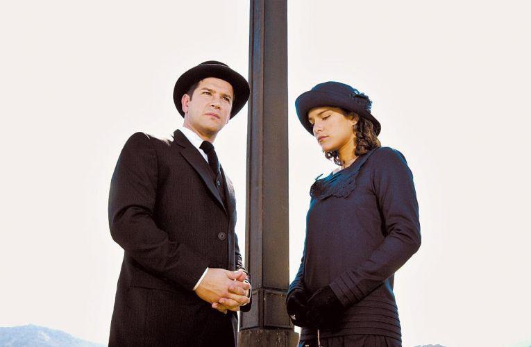 Murilo Benício e Priscila Fantin em cena da novela