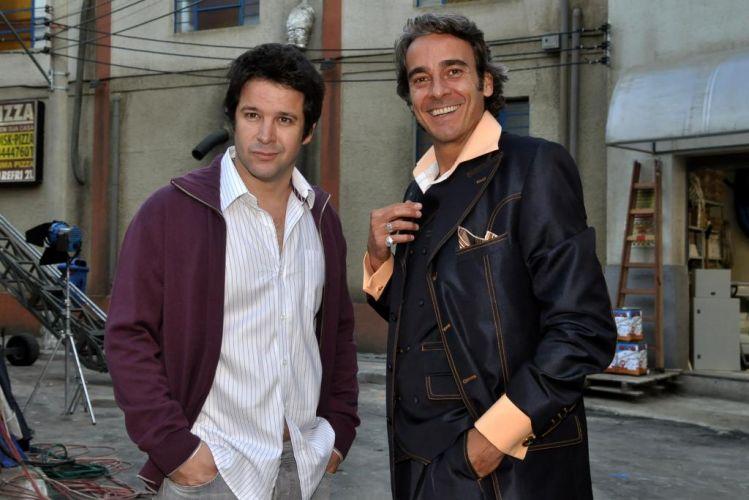 Murilo Benício e Alexandre Borges, que interpretam os rivais Ariclenes/Victor Valentim e Jacques Leclair em