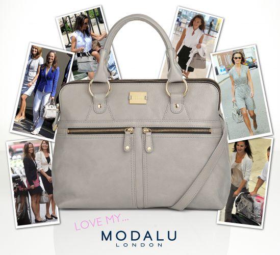 Anúncio da bolsa usada por Pippa usa como referência várias fotos da moça com o acessório, em diferentes momentos. A bolsa da marca Modalu custa £169 (cerca de R$ 425) se esgotou nas lojas e nas pré-encomendas online. A marca foi rápida em rebatizar a bolsa de