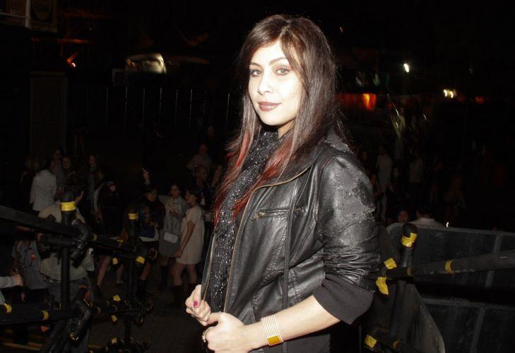 Cantora Pitty vai ao festival de música realizado neste sábado no Playcenter, em São Paulo (05/11/2011)