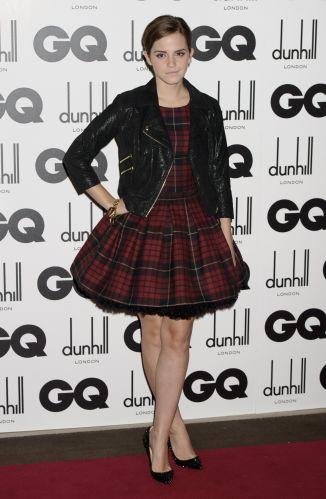 d2e477a95a Atriz Emma Watson também esteve na cerimônia de entrega do prêmio Homens do  Ano