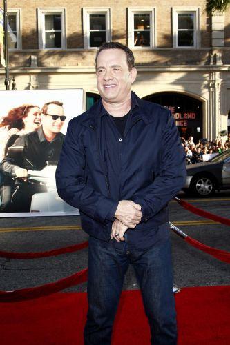Tom Hanks chega à pré-estreia do filme
