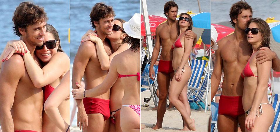 No dia 7 de março a atriz Letícia Spiller foi fotografada ao lado do novo namorado, o diretor de fotografia Lucas Lordeiro, na praia de Ipanema, no Rio de Janeiro