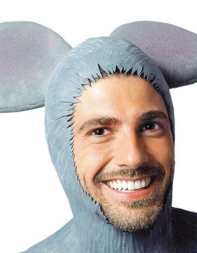 O ator Reynaldo Gianecchini caracterizado como o ratinho símbolo dos classificados do jornal Folha de S. Paulo, durante gravação do comercial feito pela agência W/Brasil (8/5/2004)