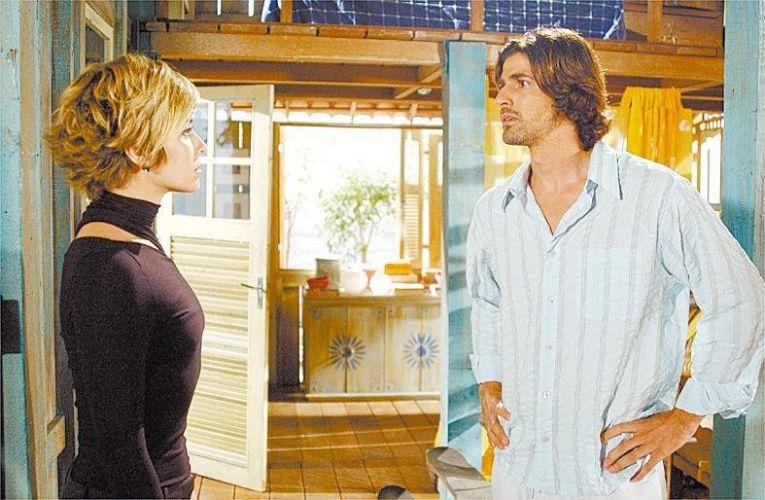 Giovana Antonelli e Reynaldo Gianecchini em cena da novela