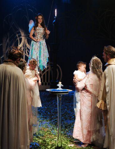 Sandy fez uma participação especial como a Fada Felícia na segunda versão do programa infantil
