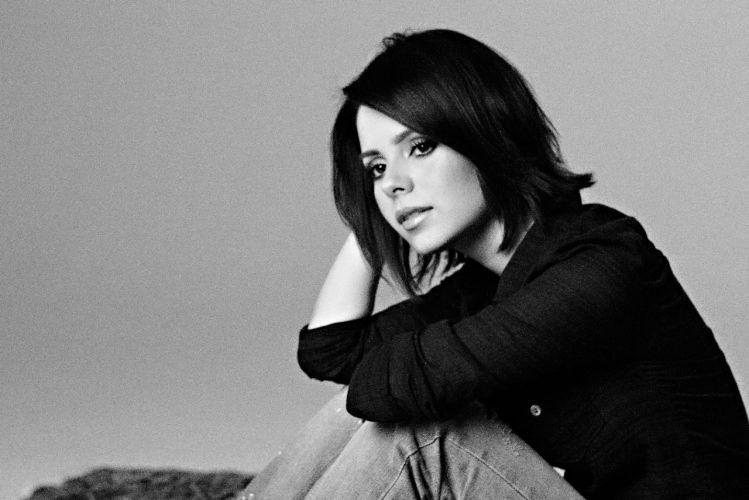 Foto de divulgação da cantora Sandy (2010)