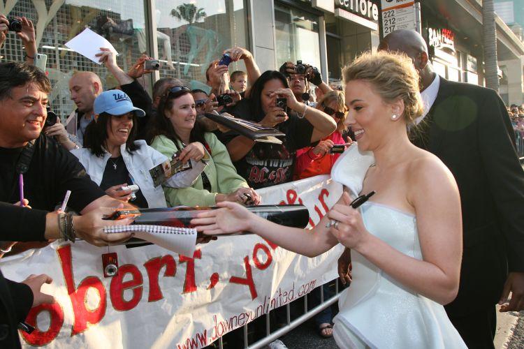 Scarlett Johasson em cena do filme
