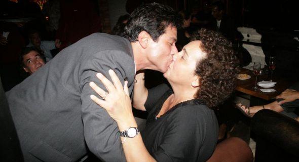 Maurício Mattar e Cláudia Jimenez