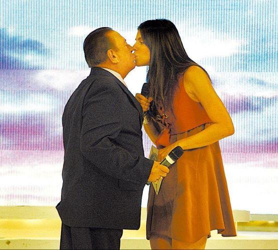 Raul Gil e Daniela Cicarelli