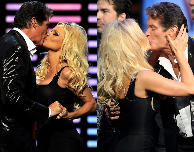 David Hasselhoff e Pamela Anderson