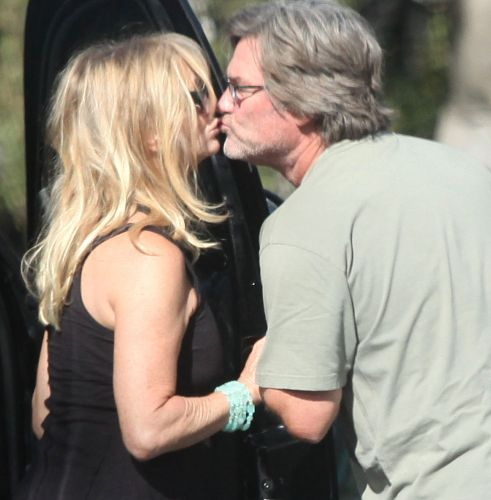 Goldie Hawn e Kurt Russell