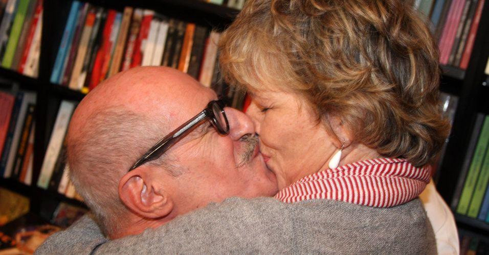 Marcos Caruso e Irene Ravache