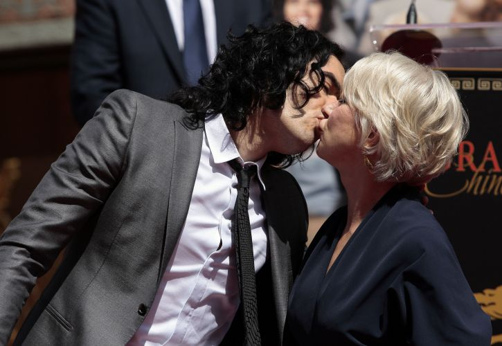 Russell Brand e Helen Mirren